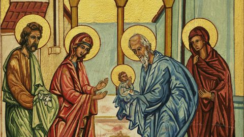 SUNDAY, FEBRUARY 3, 2019 Sunday of the Canaanite Woman Commemoration of the Holy Simeon the just who received the Lord and of Anne the Prophetess (Class 5) الاحد، 3 شباط 2019 تذكار سمعان الصديق قابل الله، وحنة النبية