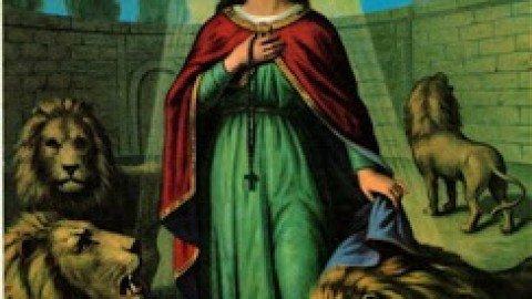 تذكار القديسة تقلا أولى الشهيدات المعادلة الرسل Thecla the Protomartyr & Equal to the Apostles