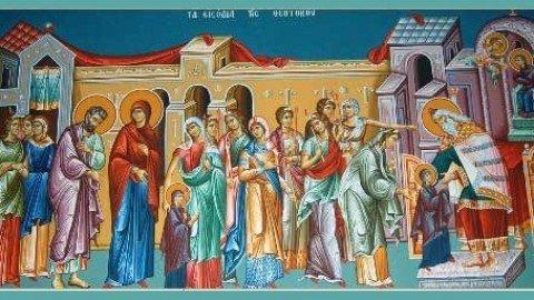 Entrance of the Theotokos into the Temple / عيد دخول سيدتنا والدة الإله الفائقة القداسة إلى الهيكل