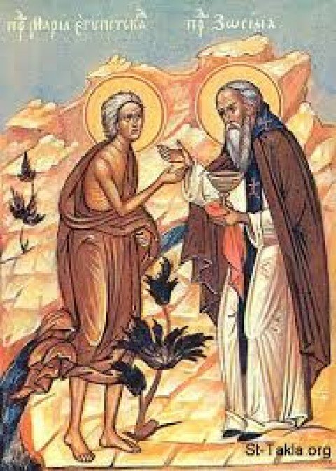 Sunday, March 29, 2020 Sunday of Mary of Egypt الاحد، 29 اذار 2020 – تذكار أمنا مريم المصرية