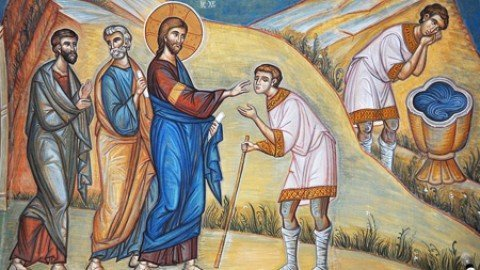 SUNDAY, MAY 26, 2019 Sunday of the Man Born Blind Commemoration of the Holy Apostle Carpos, one of the Seventy (Class 5) الاحد 26 ايار 2019 أحد الاعمى