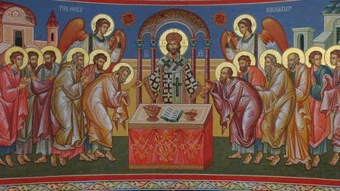 Thursday, May 31, 2017 Feast of the Divine Body Commemoration of the Holy Prophet Amos and of our Holy Father Jerome, the Hermit of Bethlehem الخميس، 31 أيار 2018 خميس الجسد الالهي