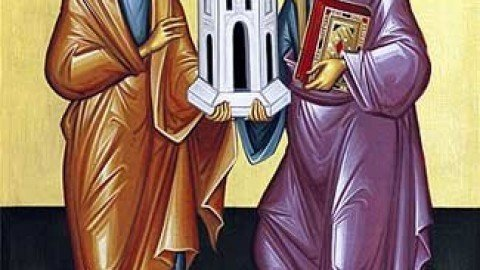 Sunday, July 1, 2018 6th Sunday After Pentecost – Healing of the Paralytic Commemoration of the Holy Wonderworkers Cosmas and Damian (Class 4)