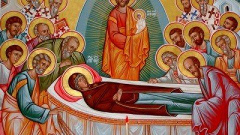 Wednesday, August 15, 2018 DORMITION OF THE THEOTOKOS الاربعاء، 15 آب 2018 عيد رقاد الفائقة القداسة سيدتنا المجيدة والدة الاله الدائمة البتولية مريم