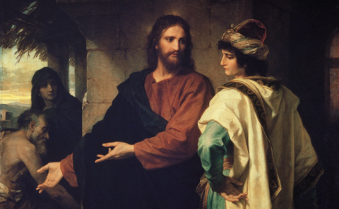 Sunday, November 25, 2018 13th Sunday After the Exaltation of the Holy Cross – The Rich Man الاحد، 25 تشرين الثاني 2018 الاحد الثالث عشر بعد الصليب – الرجل الغني