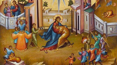 Triodion (Period of the Three Odes)  Prophonisimon (Herald of Lent)   Sunday of the Prodigal Son  Commemoration of the Holy Great-Martyr Theodore (Class 5) الاحد، 17 شباط 2019 أحد الابن الشاطر