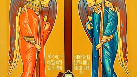 SUNDAY, MARCH 3, 2019 Triodion (Period of the Three Odes) – Prophonisimon (Herald of Lent)  Sunday of Cheese-Fare Commemoration of the Holy Martyrs Eutropios, Cleonicos, and Basiliscos (Class 5) الاحد، 3 اذار 2019 احد مرفع الجبن