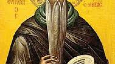 Sunday, January 20, 2019 Twelfth Sunday After the Holy Cross – The Ten Lepers COMMEMORATION OF OUR HOLY AND GOD-BEARING FATHER EUTHYMIUS THE GREAT (CLASS 3)
