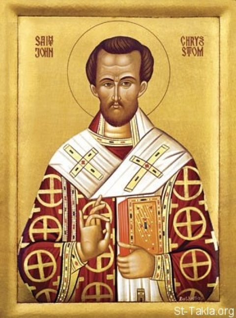 Sunday, January 27, 2019 TRANSFER OF THE REMAINS OF OUR FATHER AMONG THE SAINTS JOHN CHRYSOSTOM (CLASS 3)