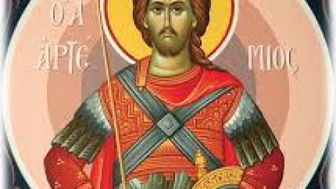 SUNDAY, OCTOBER 20, 2019 Sixth Sunday After the Holy Cross – Gerasene Demoniac Commemoration of the Holy Great-Martyr Artemios (Class 5) الاحد، 20 تشرين الاول 2019 الاحد السادس بعد رفع الصليب